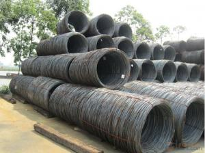 SS400 SAE1008 SAE1006 Hot Rolled Wire Rods SAE1018 Q235 Q195