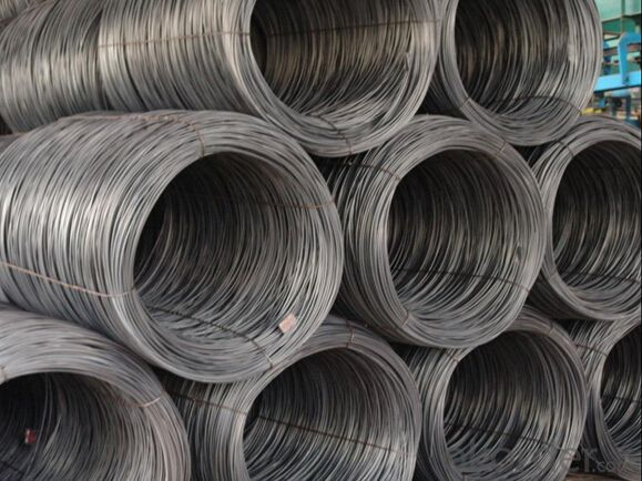 Grade SAE1008B/1012B/1018B/1022B Hot Rolled Steel Wire Rod in Coils