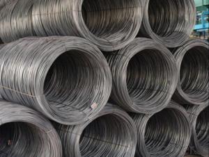 Grade SAE 1010 Hot Rolled Steel Wire Rod in Coils