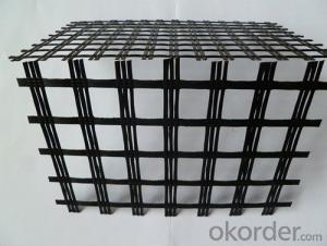 PP Biaxial Geogrid/ Fiberglass /Polyester Geogrid