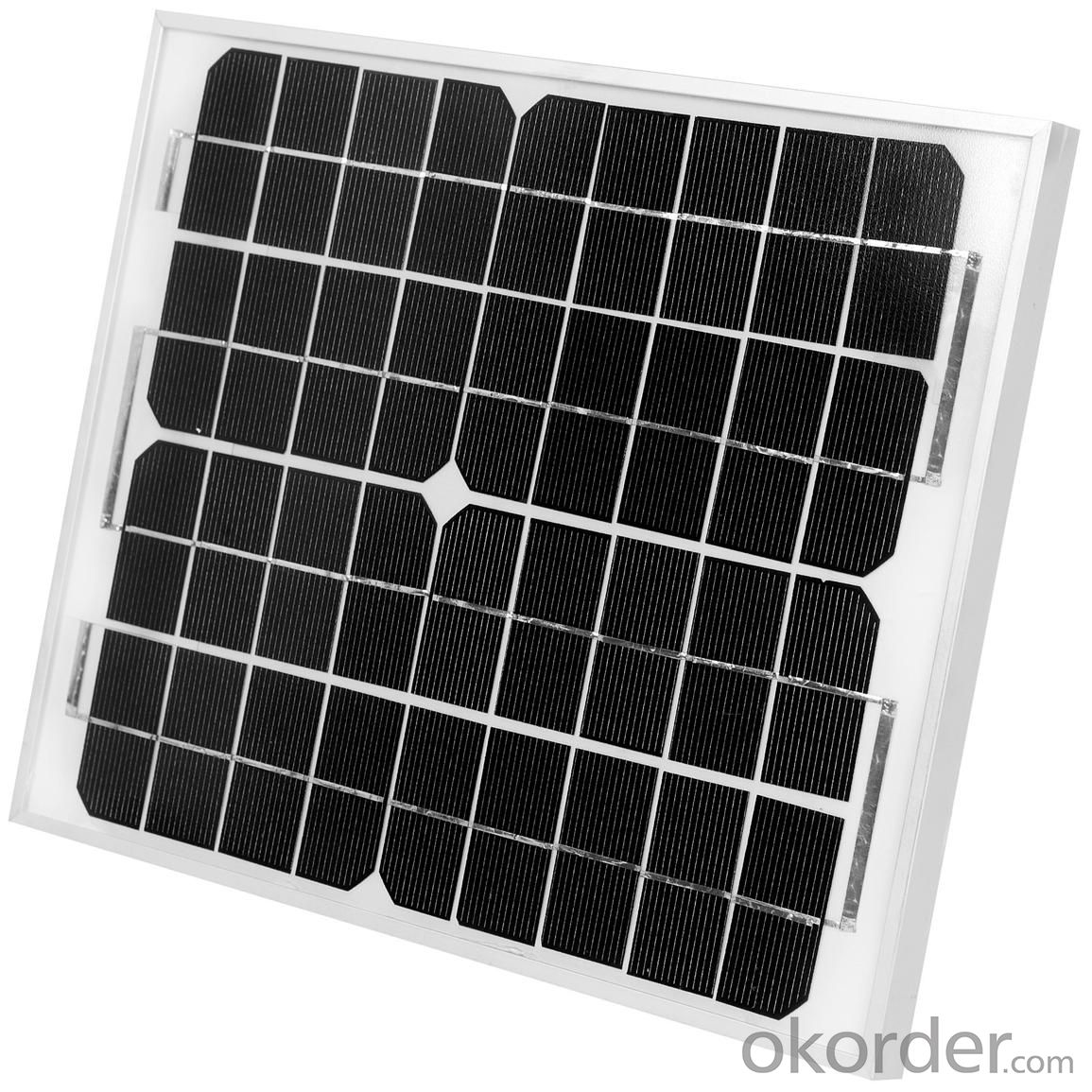 10W Mono Solar Panel Manufactured in China