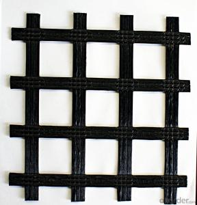 PP Biaxial Geogrid/ Fiberglass Geogrid with High Strength