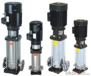 High Flow Rate Vertical Multistage Centrifugal Pump