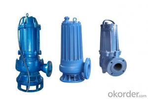 High Flow Rate Submersible Sewage Cutter Pump China Made