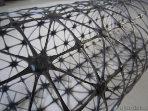 PVC Coated Polyester Geogrid/Fiberglass Geogrid