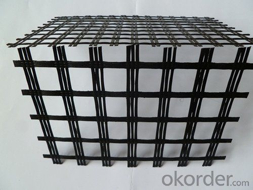 PVC Coated Polyester Geogrid/Fiberglass Geogrid