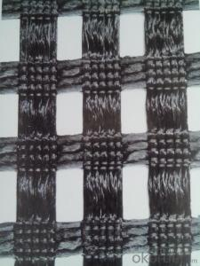 PVC Coated Polyester/PP/ Fiberglass Geogrid
