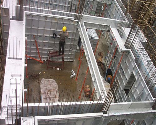Whole Aluminium Formwork Panels For Concrete Casting Building