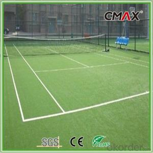 3/8 Inch Dark Green Tennis Court Grass with 20mm Height