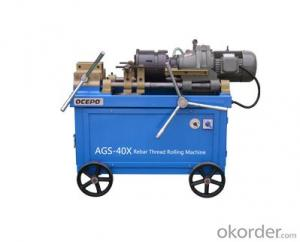 Rebar Thread Rolling Machine/rib peeling machines AGS-40C