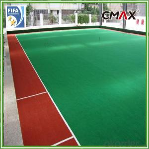 Football Artificial Grass Certificated Sport Synthetic Turf