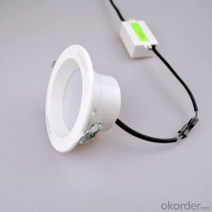 Round aluminum recessed SMD LED Downlight 5W /7W/9W/12W/15W/18W