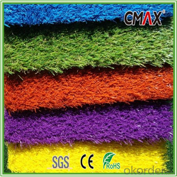 Artificial grass for Playground 25mm Height,Colorful