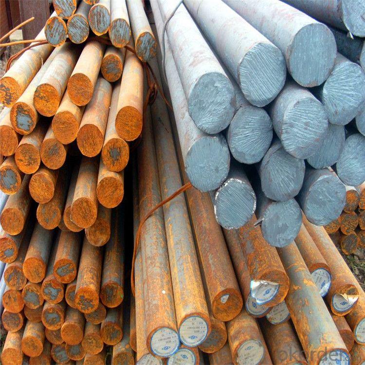 Hot Rolled Mild Round Bar S45C C45 1045 CK45 60mm Carbon Steel Round Bar