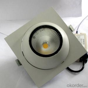 Square Led COB Downlight 20W ,LED Bull eye lamp for 3 years warranty