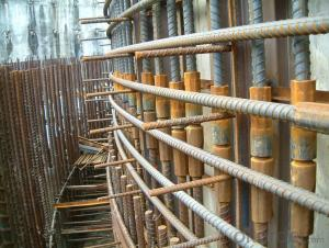 Steel Coupler Rebar Steel Tube Made in Tianjin China under  High Quality