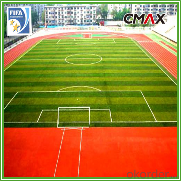 Artificial Grass Carpets for Football Stadium with Seam Tape