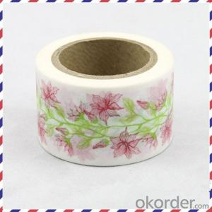 Rice Paper Adhesive Tape Exported on Discount with High Quality