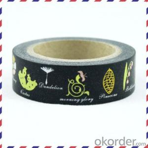 Rice Paper Tape/Masking Tape /Colorful Decoration Tape