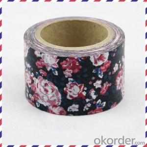Decoration Rice Paper Tape with Srong Adhesion
