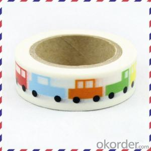 Rice Paper Decorative Tape Made in China