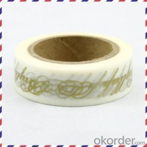 Rice Paper Adhesive Tape Price