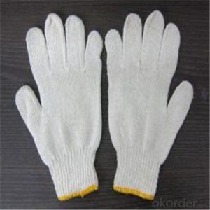 Cotton PVC Dotted Gloves Working Glove in China