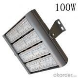 Various lens module design 100W led tunnel light