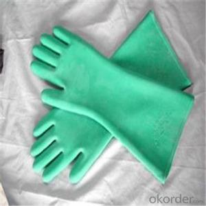 Nitrile Latex Working Glove  Waterproof Long Gloves with High Quality