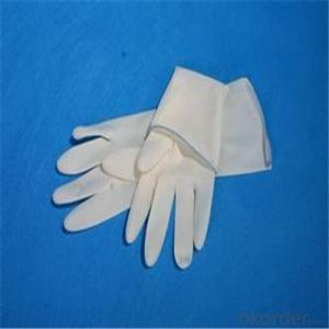 Latex Household Gloves Waterproof Long Gloves in China
