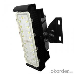 60W  module design led tunnel light for large area flood