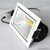 Indoor lighting square Led COB Downlight 30W