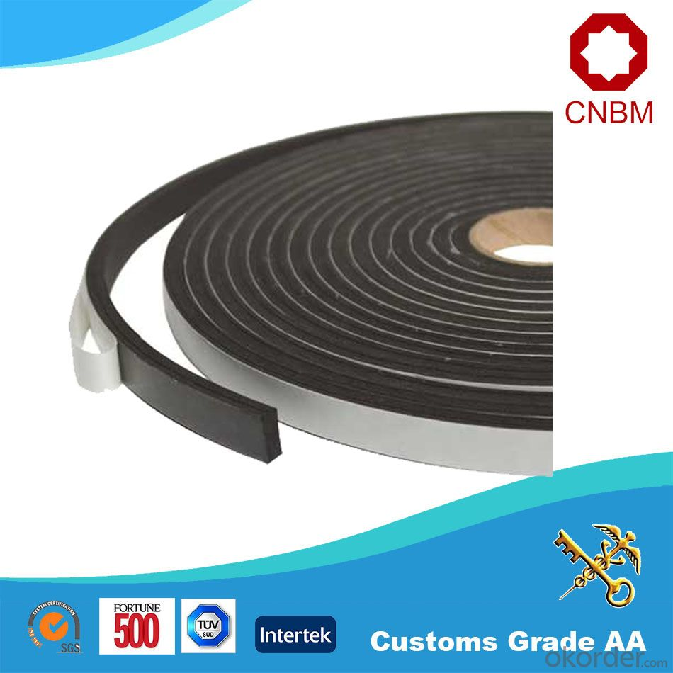 Double Sided Foam Tape Hot Melt Solvent Adhesive