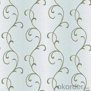PVC Wallpaper Mini Size Digital Printing Reusable Wallpaper with 3D Embossed