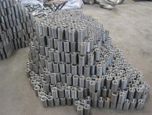 Steel Coupler Rebar Steel Tube Made in Shanghai China with High Quality