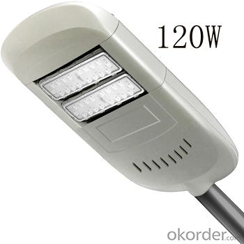 led street light 120W energy saving lamp high lumen for road lighting