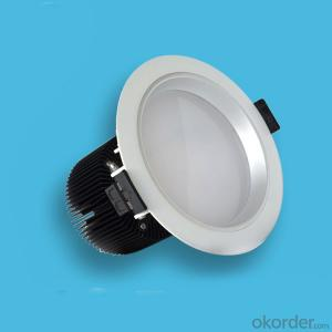 30W Recessed Led COB Downlight with aluminum