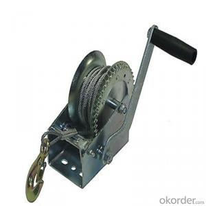 Hand Winch with Synthetic Rope 15m