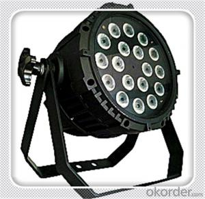 LED Par stage lighting 64 RGB DMX 4 in 1