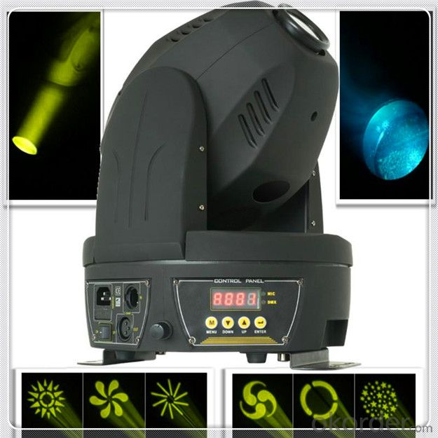 MEGA LED moving head professional stage light 3x3 4IN1 RGBW Matrix beam