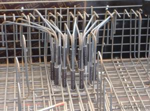 Steel Coupler Rebar Steel Tube Made in Shanghai China with Good Price