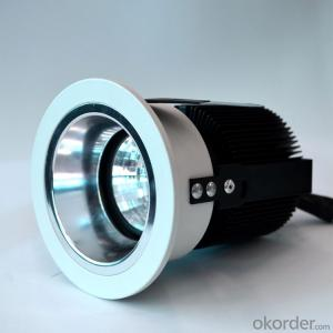 Adjustable angle Led COB Downlight 15W cut-out 78mm