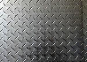 3003 Checkered Plate 0.5-6mm Thick Embossed Aluminum Sheet