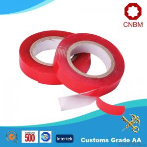 Foam Tape Red PE Film Liner Hot Sales Black Color