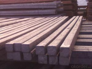 Hot Rolled Steel Billet 3SP Standard 105mm