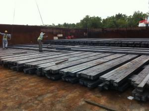 Hot Rolled Steel Billet 3SP Standard 180mm