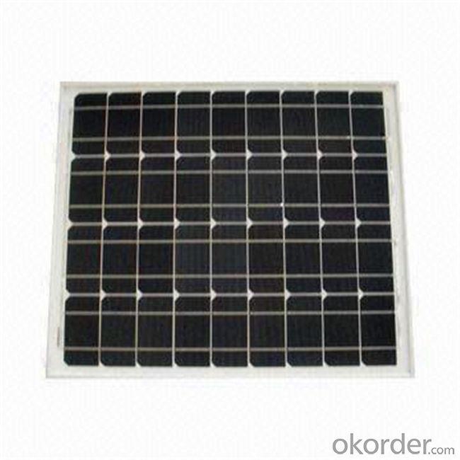 65W Mono Solar Panel Small Size Solar Panel