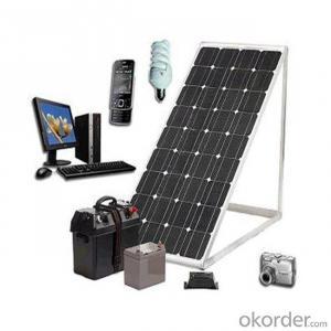 110W Mono Solar Panel Small Size Solar Panel