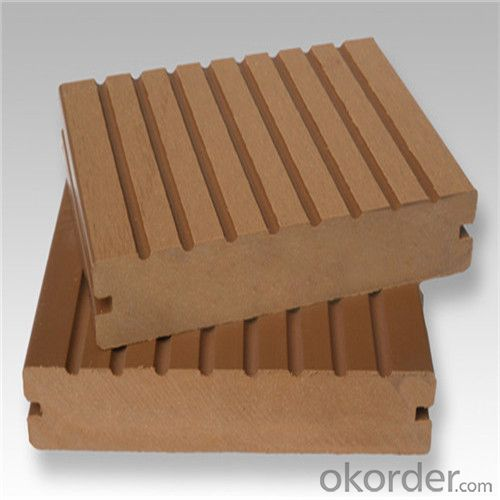 Wood Plastic Composite WPC Tiles Wood Composite Floor Decoration Outdoor  2016