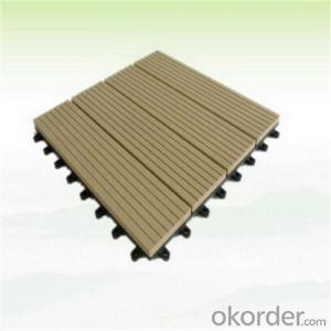 WPC Hollow Deck Tile Hot Sell Beautiful Decking For Sale China 2016